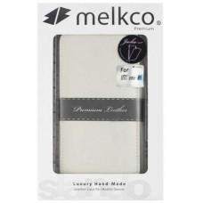 Чехол-флип откидной Melkco для Htc One 2 M8 белый