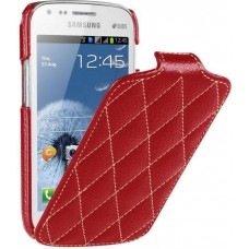 Чехол откидной Vetti Craft для Samsung Galaxy S Duos S7562 red