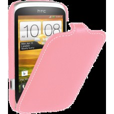 Чехол Vetti Craft Slim Flip Htc Desire C Normal Series Pink
