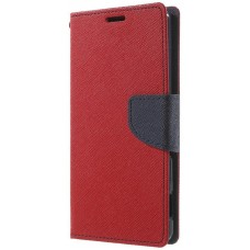 Чехол-книжка Toto Book Cover Mercury Meizu M3S Red