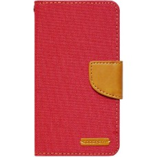 Чехол-книжка Goospery Canvas Diary Universal 4.5-5.0 Red