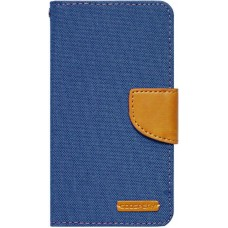 Чехол-книжка Goospery Canvas Diary Universal 5.0-5.5 Denim