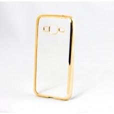Накладка-чехол GlobalCase Xiaomi Redmi 4X Tpu Electro Gold Silver