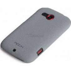 Чехол Rock Htc desire c quicksand series light grey