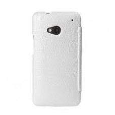 Чехол Melkco Leather Case Face Cover Book White for Htc One M7 O2O2M7LCFB2WELC