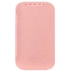 Чехол Melkco Leather Case Jacka Face Cover Book Pink for Htc Desire C A320e O2DERCLCFB2PKLC
