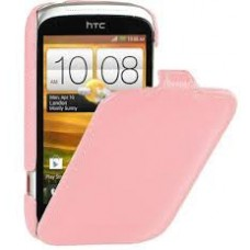 Чехол Melkco Leather Case Jacka Pink for Htc Desire C A320e O2DERCLCJT1PKLC