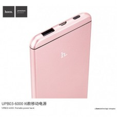 Power bank Hoco UPB03 i6 12000mAh Rose Gold