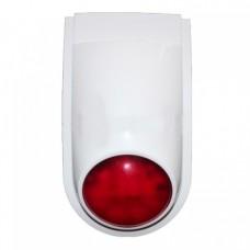 Беспроводная сирена Sparta ARS-433 - наружная радиоканальная светозвуковая сигнализация