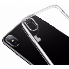 Baseus Simple Series Case For iPhone X Clean Tpu Transparent B02