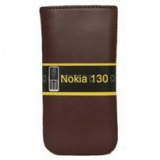 Кисет Florence матовый Nokia 130 New коричневый