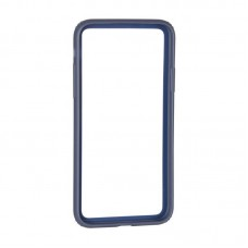 Bumper Baseus OR Hard And Soft Border For iPhone X Dark Blue