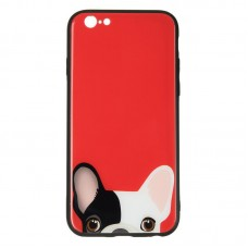IPaky Glass Print for iPhone 7 Plus Dog