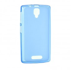 Original Silicon Case Lenovo A6000/A6010 Blue