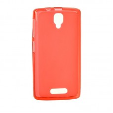 Original Silicon Case Lenovo A6000/A6010 Red
