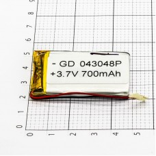 Polymer battery 30504 700mAh