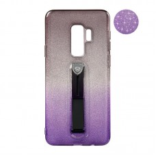 Remax Glitter Hold Series for Samsung G935 S7 Edge Black/Violet