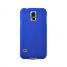 Original Silicon Case Samsung I9500 Galaxy S4 Blue
