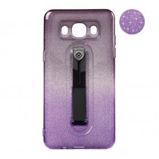 Remax Glitter Hold Series for Samsung J510 J5-2016 Black/Violet
