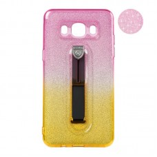 Remax Glitter Hold Series for Samsung J710 J7-2016 Yellow/Pink
