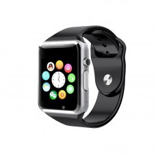Smart Watch A1 Black (with SIM + MicroSD + Camera)