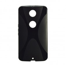 Original Silicon Case Motorola X Play Black