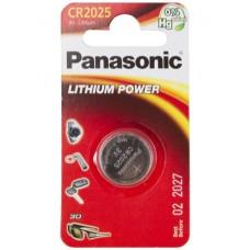 Panasonic CR2025 Lithium 1 шт/уп