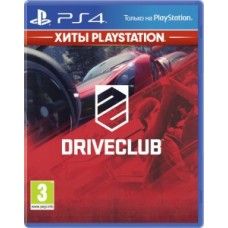 Игры для PS4 DriveClub PS4, Russian version Blu-ray диск