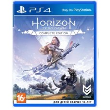 Игры для PS4 Horizon Zero Dawn. Complete Edition PS4, Russian version Blu-ray диск