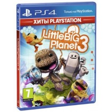 Игры для PS4 LittleBigPlanet 3 PS4, Russian version Blu-ray диск