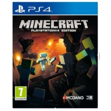 Игры для PS4 Minecraft. Playstation 4 Edition PS4, Russian version Blu-ray диск