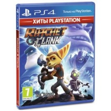 Игры для PS4 Ratchet Clank PS4, Russian version Blu-ray диск