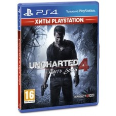 Игры для PS4 Uncharted 4 Путь вора PS4, Russian version Blu-ray диск
