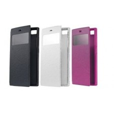 Чехол Book Cover Mobiking with Window Lenovo A328 Black