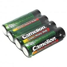 Батарейка Camelion R06 Green 4шт./уп. плёнка RL019287