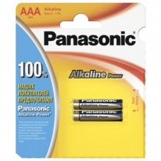 Батарейка Panasonic Alkaline Power LR03 2шт./уп. LR03REB/2BP