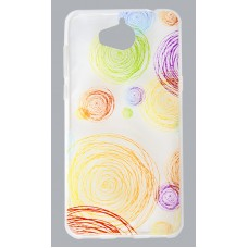 Накладка Florence силиконовая Silk 3D Xiaomi Redmi 5 Plus rounds transparent RL052065