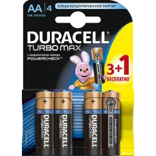 Батарейка Duracell Turbo Max LR6/MX1500 цена за 1 штуку