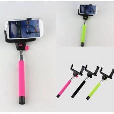 Держатель выдвижной для selfi Monopod Z00-0 Green кнопка через 3,5