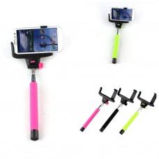 Держатель выдвижной для selfi Monopod Z00-0 Pink кнопка через 3,5