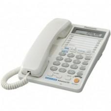 Телефон Panasonic KX-TS2368UAW White двухлинейный