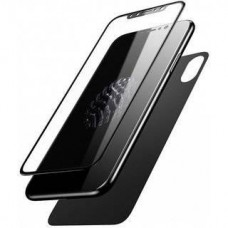 Baseus Tempered Glass Set (Front and Back) Black (SGAPIPHX-TZ01) for iPhone X/iPhone Xs