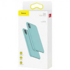 Baseus Original Lsr Case Blue (WIAPIPH65-ASL03) for iPhone Xs Max
