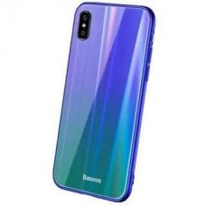 Baseus Laser Luster Case Blue/Green (WIAPIPHX-XC36) for iPhone X/iPhone Xs