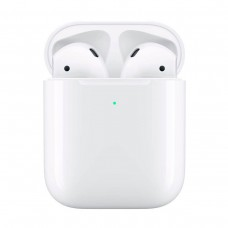 APPLE AirPods 2019 White with Wireless Charger (MRXJ2)