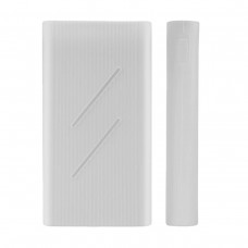 Silicone Protector Case for Xiaomi Mi Power Bank 2C 20000 mAh White (SPCCXM20W)