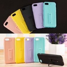 Чехол Colour Luggage Silicon Case для iPhone 7 / 8 розовый
