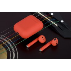 Bluetooth-гарнитура AirPods TWS i12 orange стерео наушники