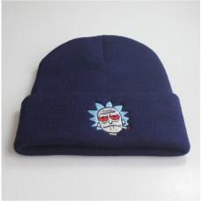 Шапка Рик и Морти синяя Rick and Morty Limited Edition