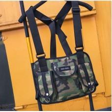 Нагрудная Поясная Сумка Бронежилет City-A Hgul+Bag Big Size Камуфляж Хаки